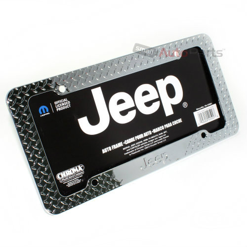 chrome jeep license plate frame. Cars Review. Best American Auto & Cars Review