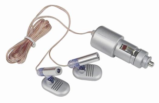 Premium Blue Led 12v Interior Cigarette Lighter Beam Light For Auto Car Truck Ebay