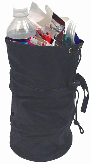 Collapsible trash litter bag portable garbage can for car truck interior ebay - Collapsible trash can ...